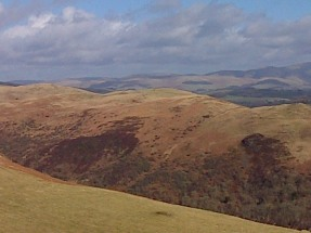 View from Tynron Doon