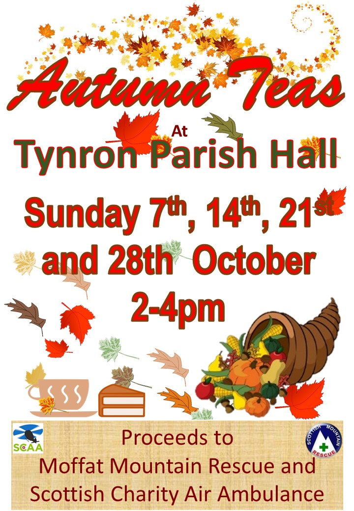 Autumn teas 2018 2